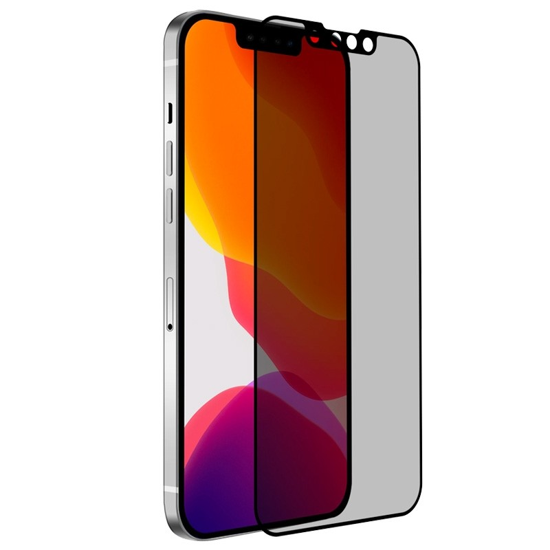 Mobiq Privacy Screenprotector iPhone 13 Mini - 1