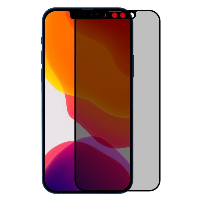 Mobiq Privacy Screenprotector Glas iPhone 13 Pro Max - 1