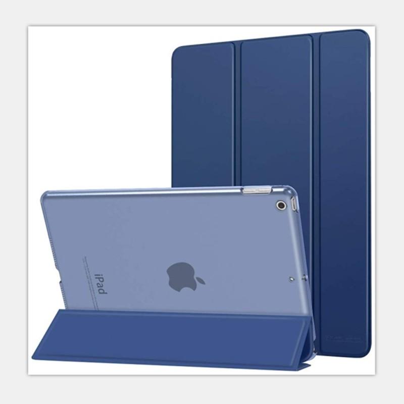 Mobiq Hard Case Folio Hoesje iPad Air (2020) Donkerblauw - 2