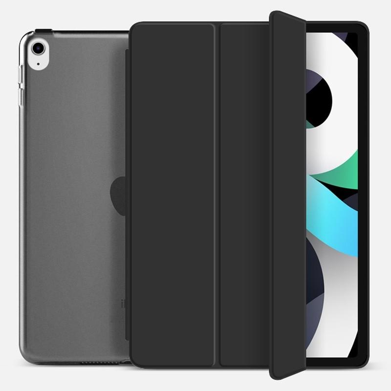 Mobiq Hard Case Folio Hoesje iPad Air (2020) Zwart - 1