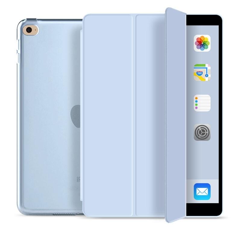 Mobiq Trifold Folio Hard Case iPad 10.2 (2020/2019) Lichtblauw - 1