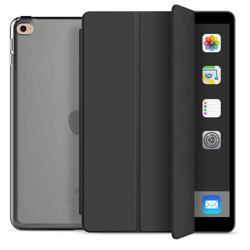 Mobiq Hard Case Folio Hoes iPad 9.7 inch (2017/2018) Zwart - 1