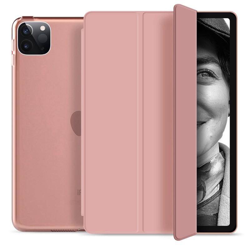 Mobiq Hard Case Folio Hoesje iPad Pro 11 (2021) Roze - 1