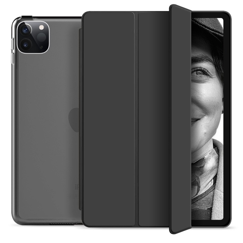 Mobiq Hard Case Folio Hoesje iPad Pro 11 (2021) Zwart - 1