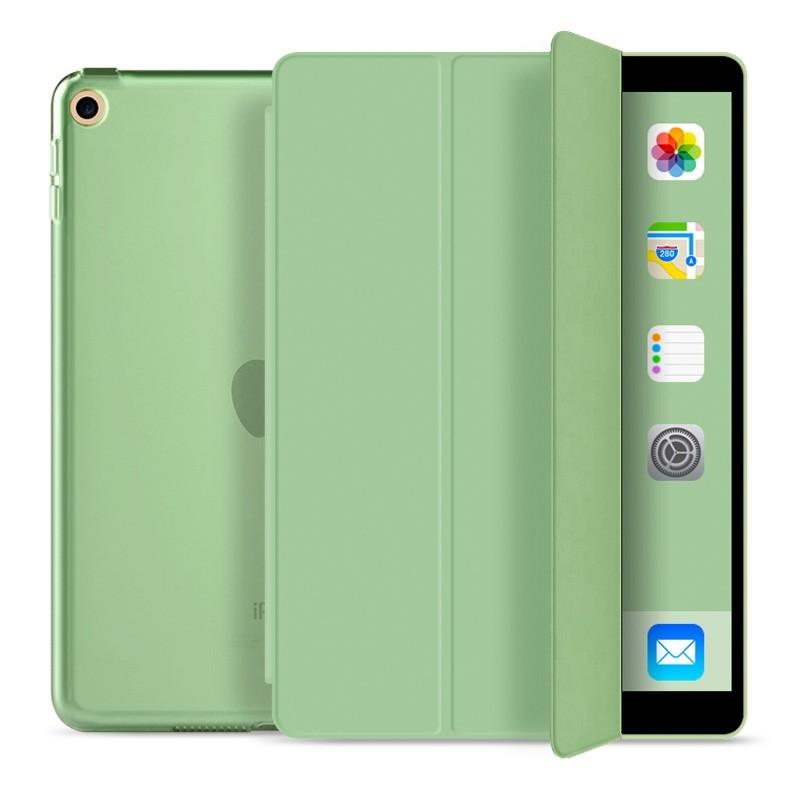 Mobiq Trifold Folio Hard Case iPad 10.2 (2020/2019) Lichtgroen - 1