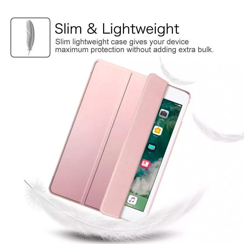 Mobiq Trifold Folio Hard Case iPad 10.2 (2020/2019) Lichtgroen - 2