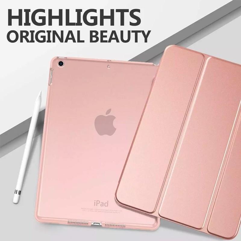 Mobiq Trifold Folio Hard Case iPad 10.2 (2020/2019) Rose Gold - 5