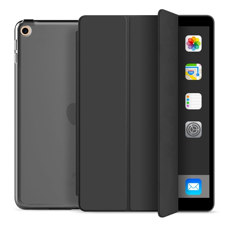 Mobiq Trifold Folio Hard Case iPad 10.2 (2020/2019) Zwart - 1