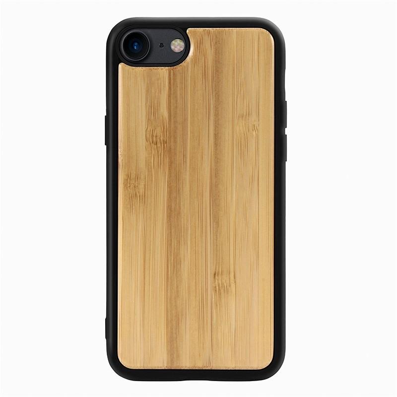 Mobiq Houten Hoesje iPhone SE (2020)/8/7 Bamboe - 2