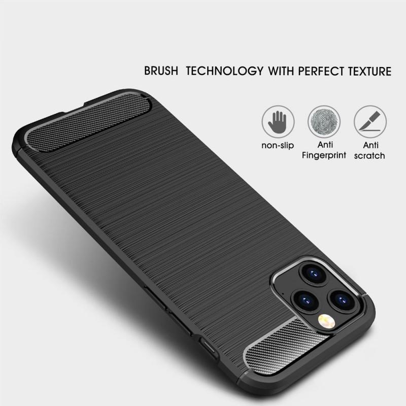 Mobiq Hybrid Carbon Hoesje iPhone 12 Mini Zwart - 2
