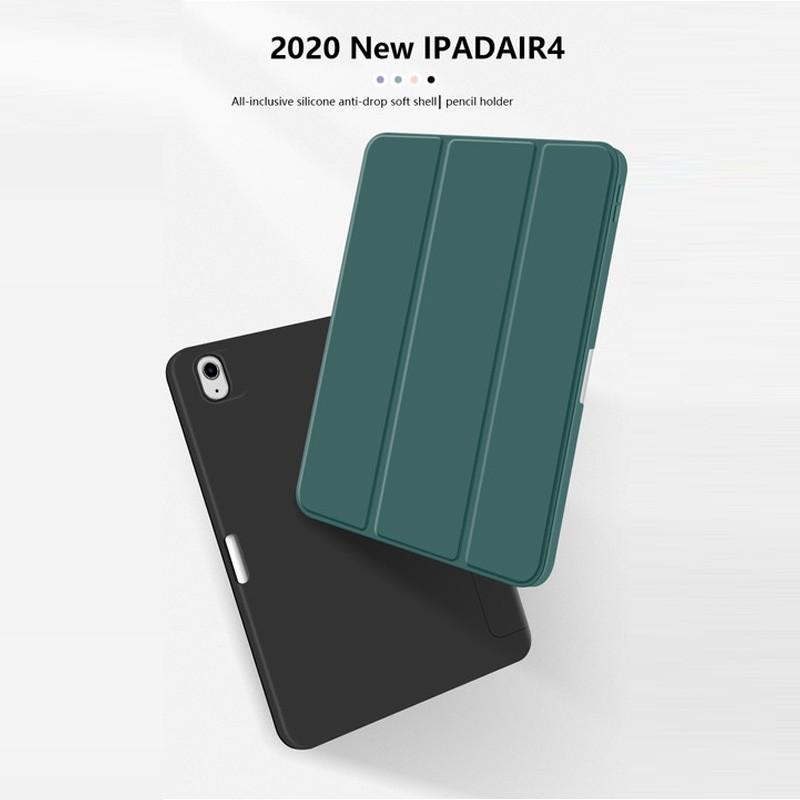 Mobiq Flexibele TriFold Hoes iPad Air 10.9 (2020) Grijs - 4