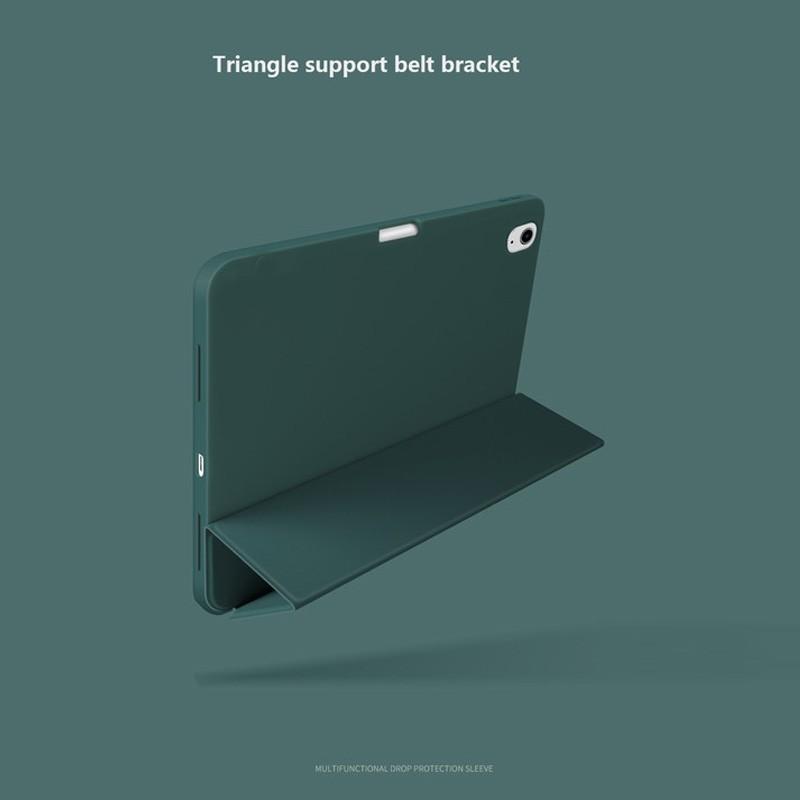 Mobiq Flexibele TriFold Hoes iPad Air 10.9 (2020) Blauw - 4