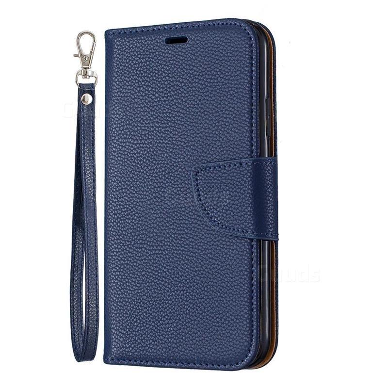 Mobiq Klassieke Portemonnee Hoes iPhone 11 Blauw - 1