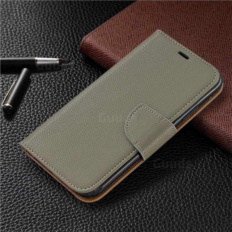 Mobiq Klassieke Portemonnee Hoes iPhone 11 Groen - 5
