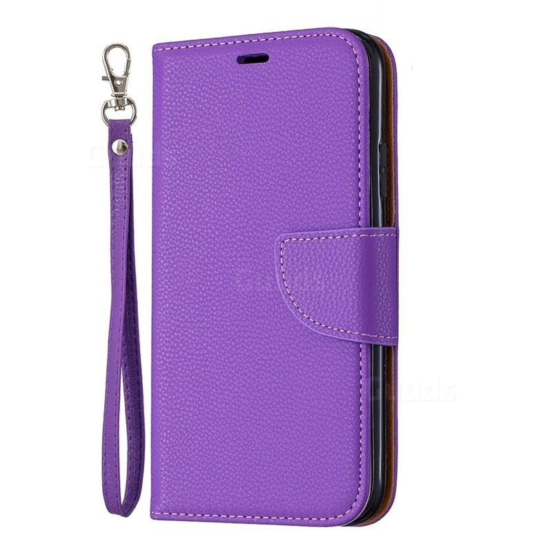 Mobiq Klassieke Portemonnee Hoes iPhone 11 Paars - 1