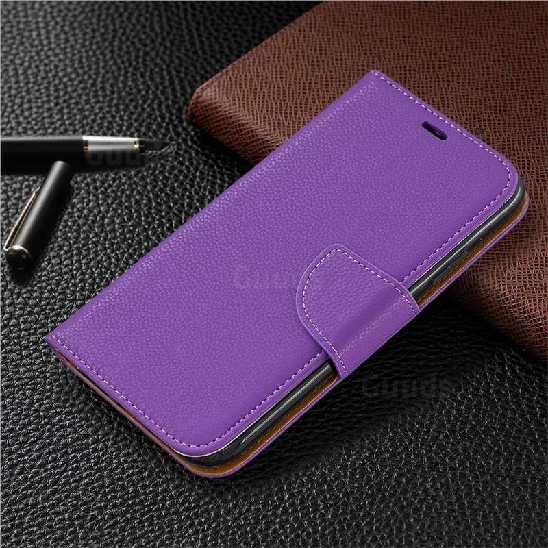 Mobiq Klassieke Portemonnee Hoes iPhone 11 Paars - 5