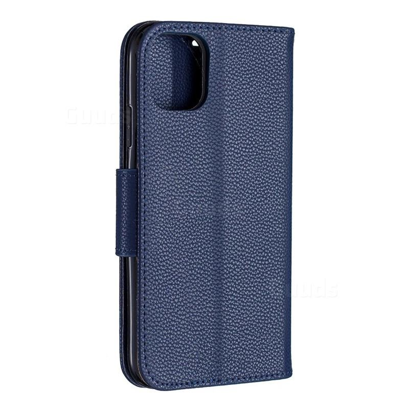 Mobiq Klassieke Portemonnee Hoes iPhone 11 Pro Blauw - 3