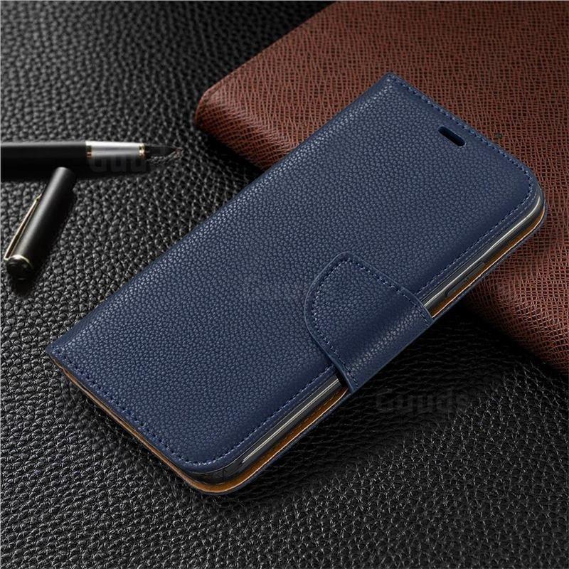 Mobiq Klassieke Portemonnee Hoes iPhone 11 Pro Blauw - 5