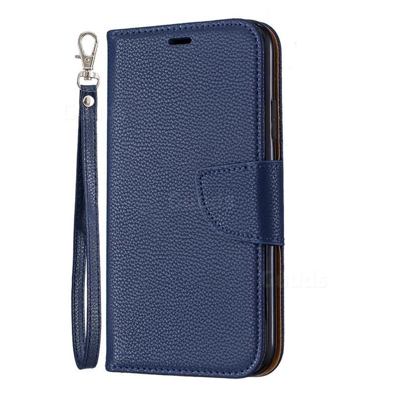 Mobiq Klassieke Portemonnee Hoes iPhone 11 Pro Max Blauw - 1