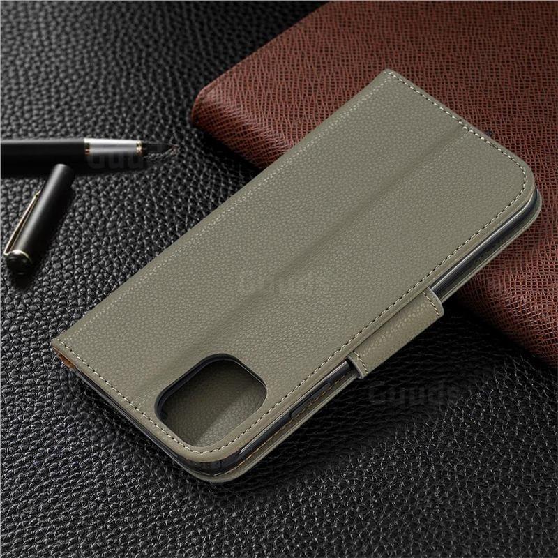 Mobiq Klassieke Portemonnee Hoes iPhone 11 Pro Max Groen - 6