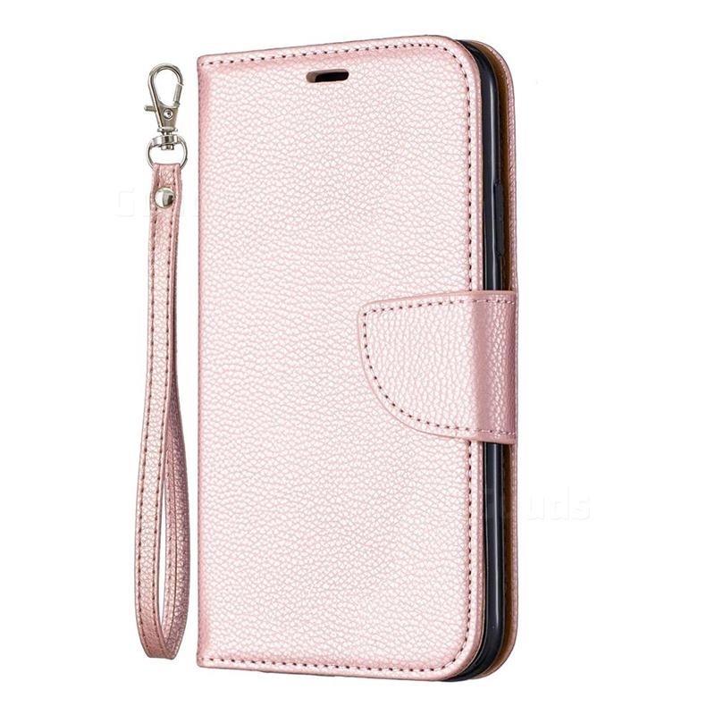 Mobiq Klassieke Portemonnee Hoes iPhone 11 Pro Max Rose Gold - 1