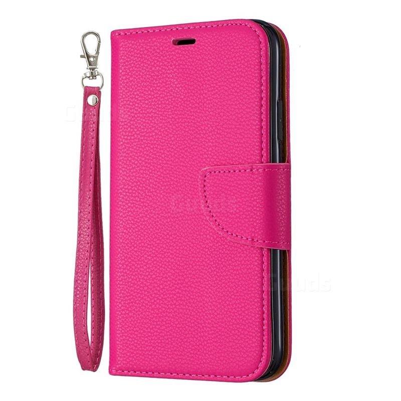 Mobiq Klassieke Portemonnee Hoes iPhone 11 Pro Max Roze - 1