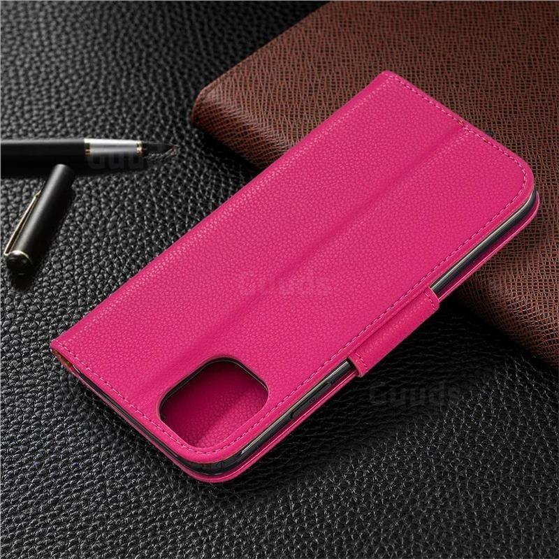 Mobiq Klassieke Portemonnee Hoes iPhone 11 Pro Max Roze - 7