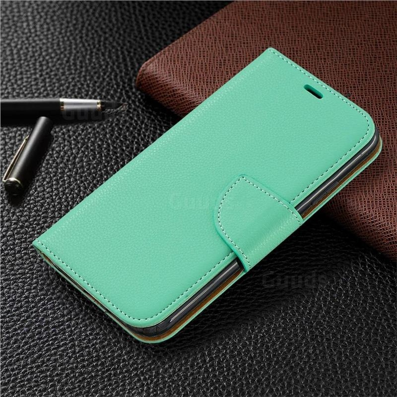 Mobiq Klassieke Portemonnee Hoes iPhone 11 Pro Max Turqoise - 5