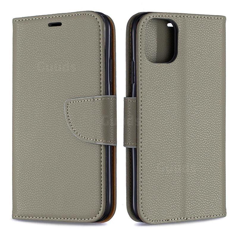 Mobiq Klassieke Portemonnee Hoes iPhone 11 Pro Groen - 2