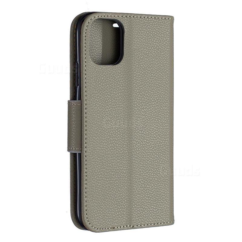 Mobiq Klassieke Portemonnee Hoes iPhone 11 Pro Groen - 4
