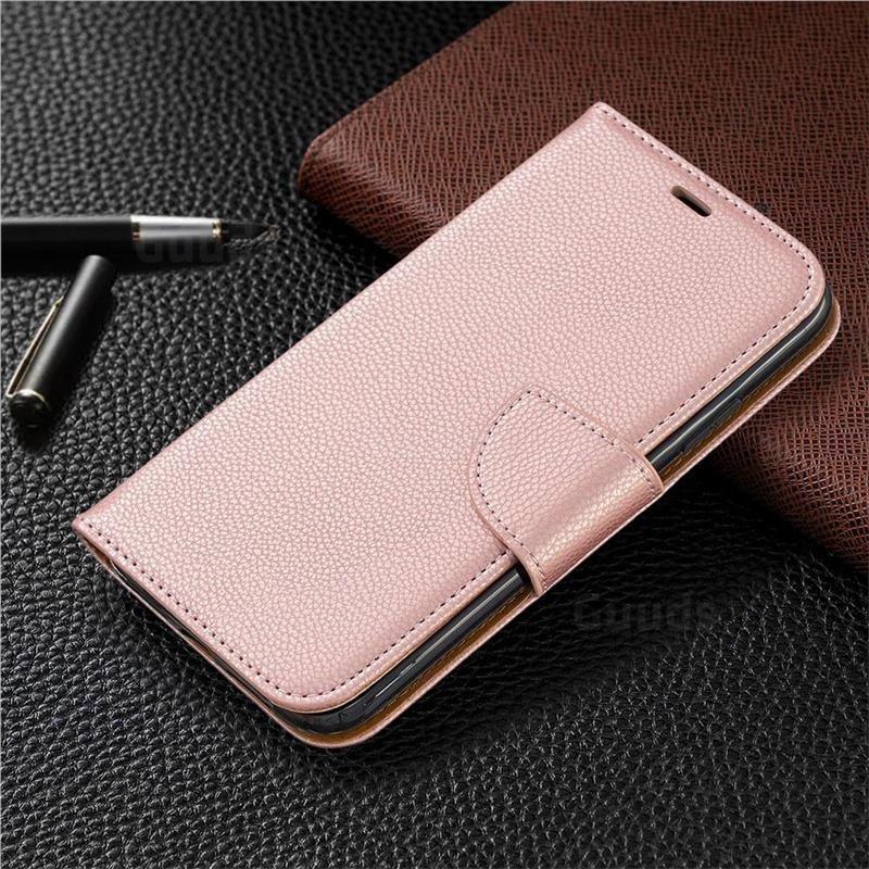 Mobiq Klassieke Portemonnee Hoes iPhone 11 Pro Rose Gold - 5