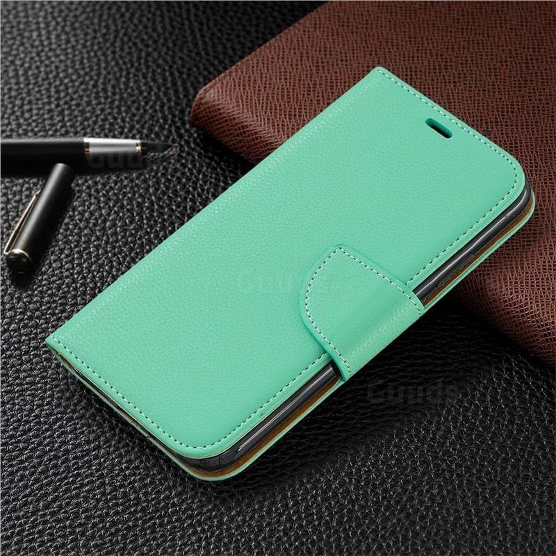 Mobiq Klassieke Portemonnee Hoes iPhone 11 Pro Turqoise - 5