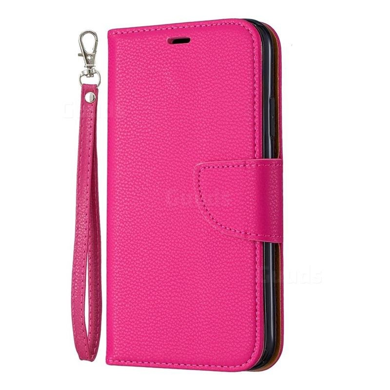Mobiq Klassieke Portemonnee Hoes iPhone 11 Roze - 1