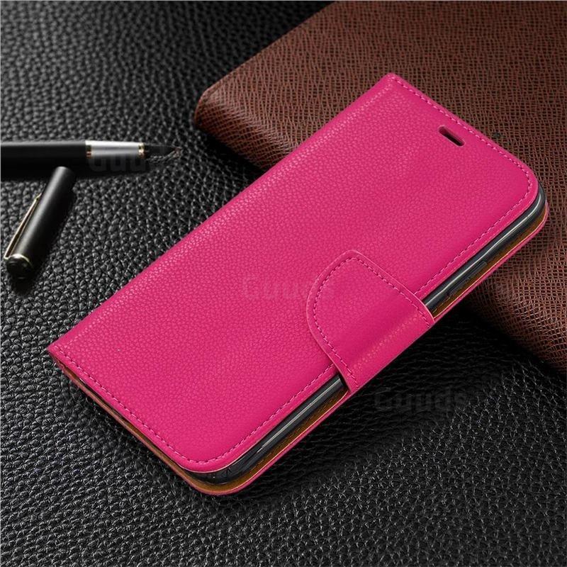Mobiq Klassieke Portemonnee Hoes iPhone 11 Roze - 5