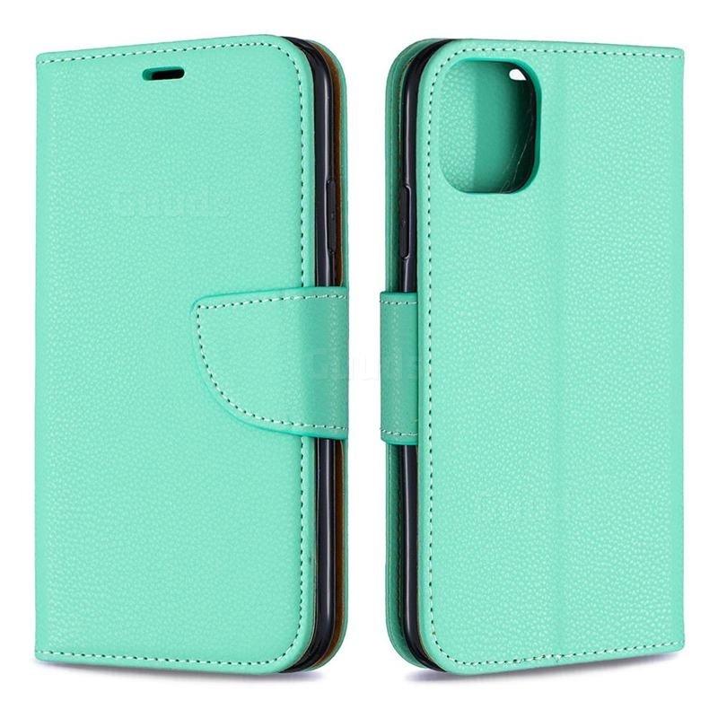 Mobiq Klassieke Portemonnee Hoes iPhone 11 Mint - 3