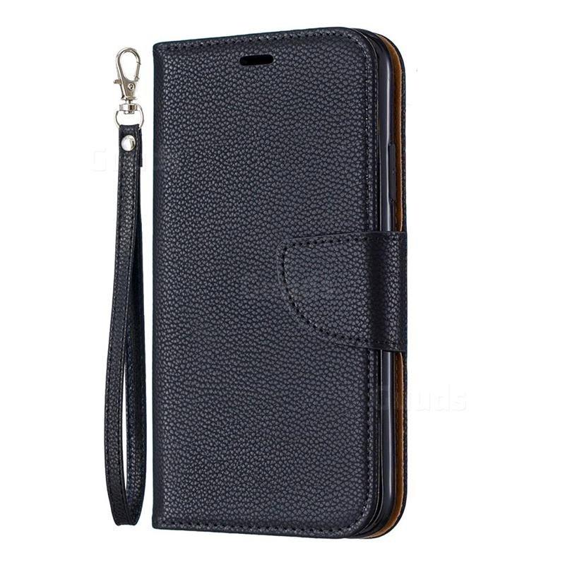 Mobiq Klassieke Portemonnee Hoes iPhone 11 Zwart - 1