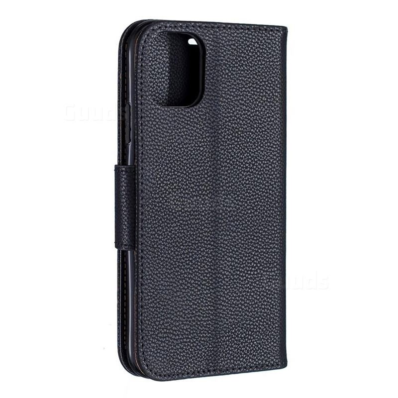 Mobiq Klassieke Portemonnee Hoes iPhone 11 Zwart - 2