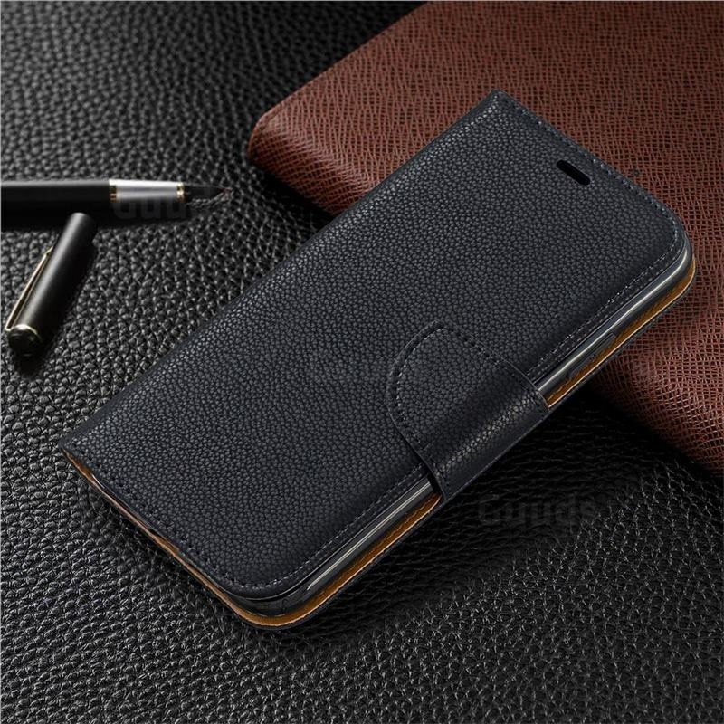 Mobiq Klassieke Portemonnee Hoes iPhone 11 Zwart - 5