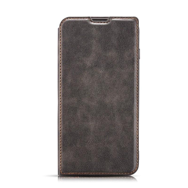 Mobiq - Slim Magnetic Wallet iPhone 11 Pro Max Zwart - 4
