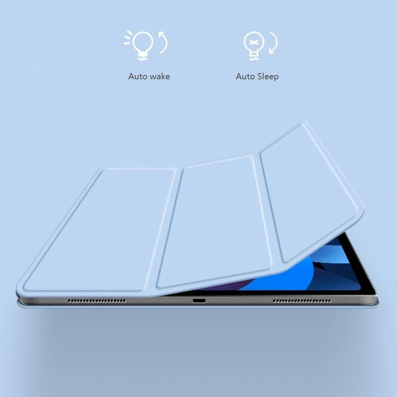 Mobiq Magnetische Folio Hoes iPad Pro 11 inch (2021/2020/2018) en iPad Air (2020) Blauw - 2