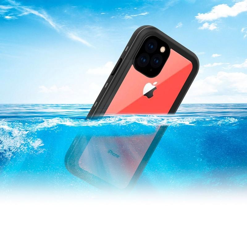 Mobiq - Waterdicht iPhone 11 Pro Hoesje Zwart - 4