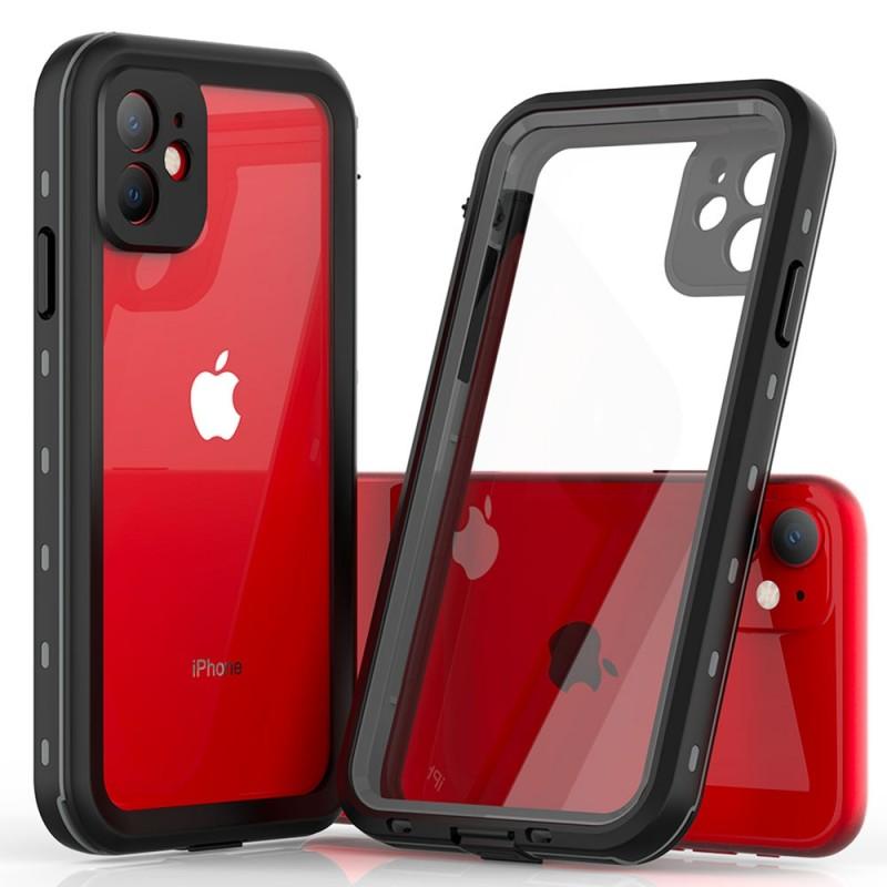 Mobiq - Waterdicht iPhone 11 Hoesje Zwart - 5