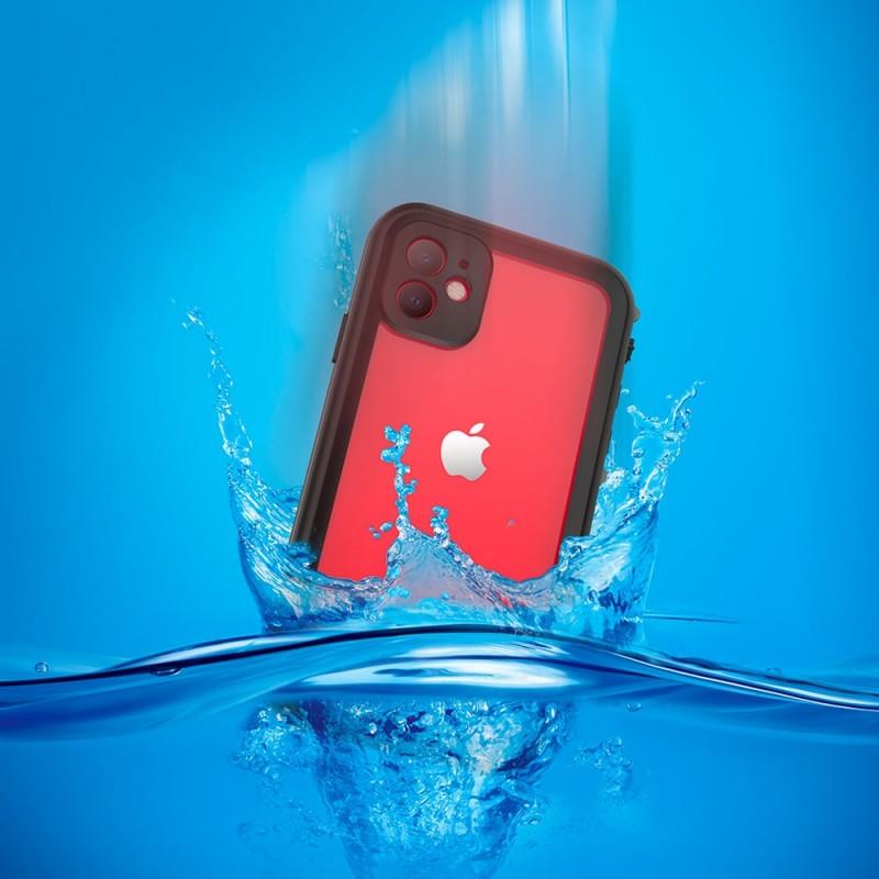 Mobiq - Waterdicht iPhone 11 Hoesje Zwart - 4