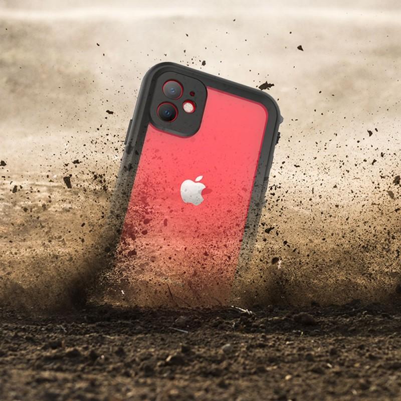 Mobiq - Waterdicht iPhone 11 Hoesje Zwart - 6