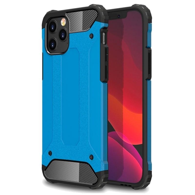 Mobiq - Rugged Armor Case iPhone 12 6.1 Blauw - 1