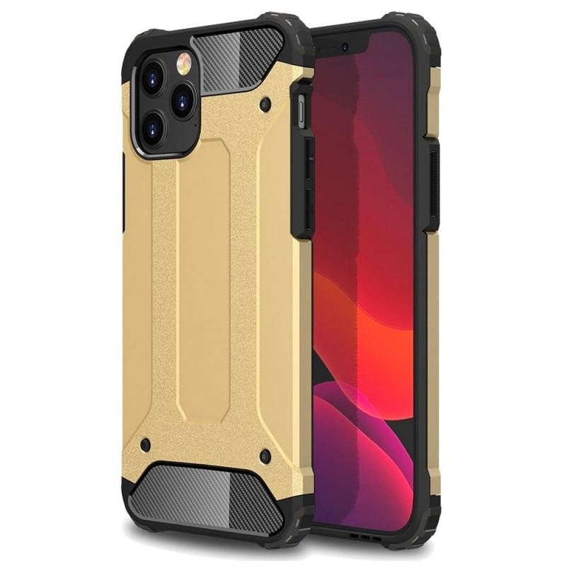 Mobiq Rugged Armor Hoesje iPhone 13 Goud - 1