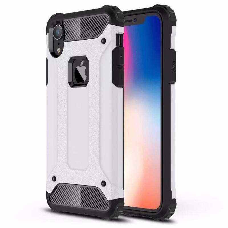 Mobiq Rugged Armor Case iPhone XR Wit 01
