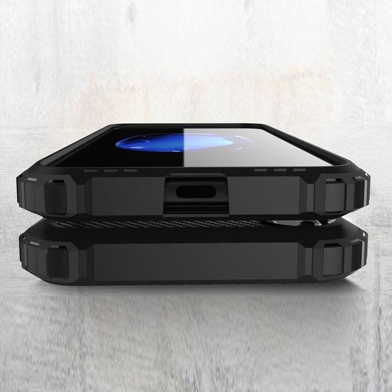 Mobiq Rugegd Armor Case iPhone X/Xs Blauw - 6