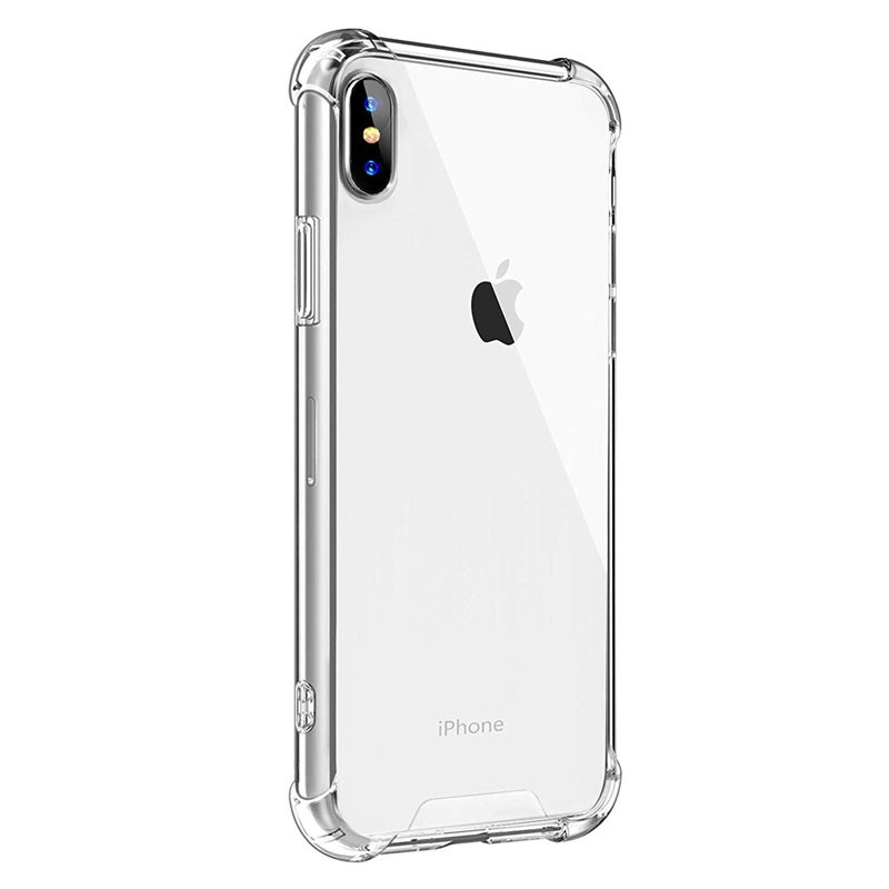 Mobiq Clear Rugged Case iPhone XS Max Transparant - 2