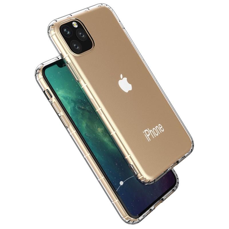 Mobiq Schokbestendig TPU Hoesje iPhone 11 Pro Max Transparant - 2